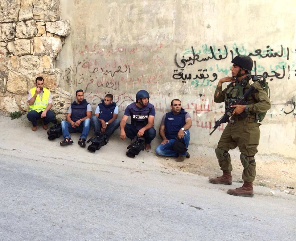 giornalisti arrestati in israele 2