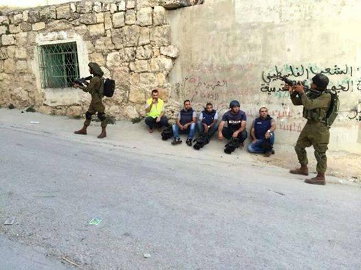 giornalisti arrestati in israele
