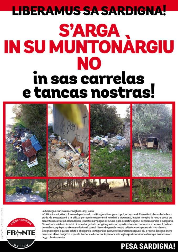 Campagna di sensibilizzazione ambientale del Fiu Sassari