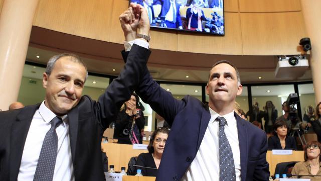 Jean-Guy Talamoni e Gilles Simeoni