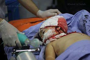bambino palestinese