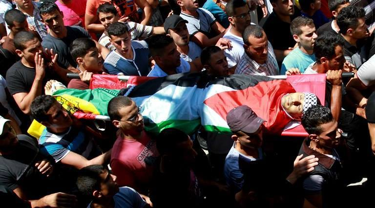 funerali palestina 2