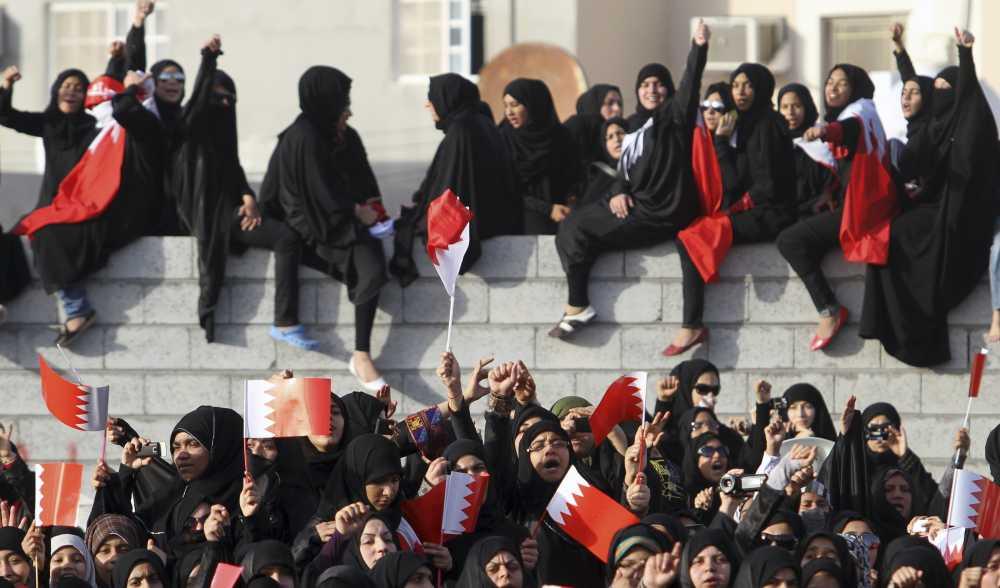 donne del bahrein