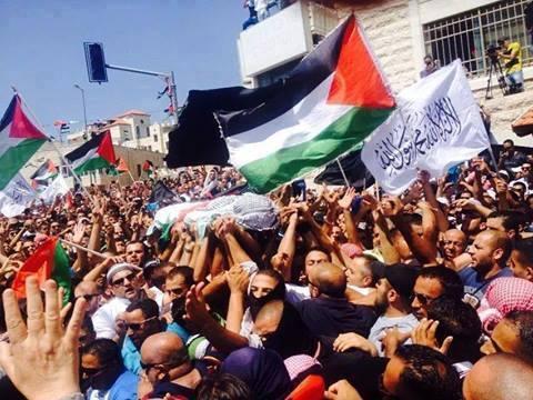 palestina funerali