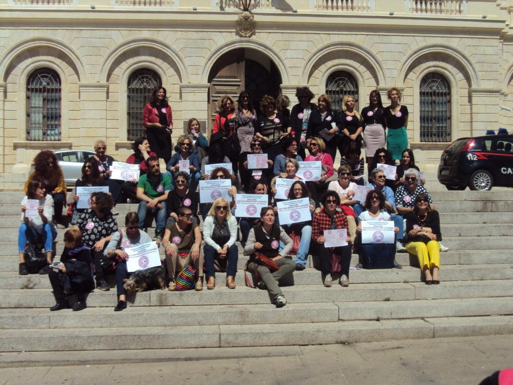 Sassari, una delle tante iniziative del Movimento